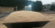 Bagged sawdust